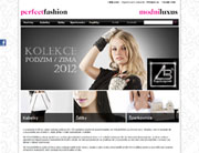 webdesign perfectfashion.cz
